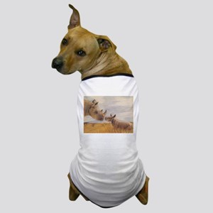 Rhino mom and baby Dog T-Shirt